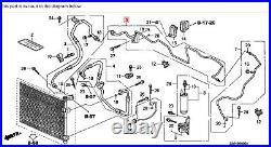 02-05 Civic 3Dr Si 2.0 A/C Suction Line Receiver Pipe DrierCompressorEvaporator