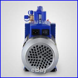 10CFM 2Stages 1HP Refrigerant Vacuum Pump Air Conditioning 25 microns 1400RPM
