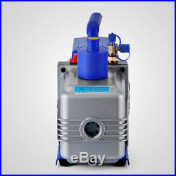 10CFM 2Stages 1HP Refrigerant Vacuum Pump Air Conditioning A/C 2-Stage