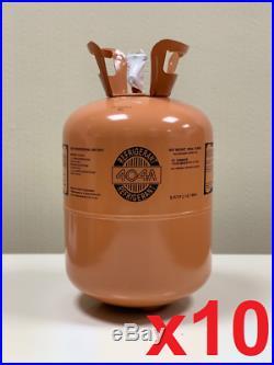 10 Pcs Refrigerant R404A 10.9kg Refrigerant R404A Klimaservice Air Conditioning