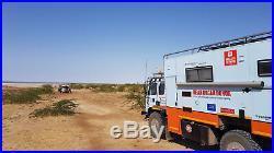 1995 DAF Leyland T244 UK registered Expedition Overlander Camper Truck RHD