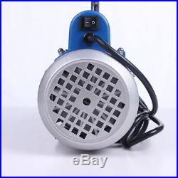 1L 2.12CFM 150W Rotary Mini Vane Vacuum Pump for Refrigerant Air Conditioning
