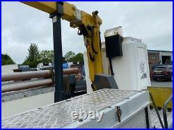 2006 bremach iveco 6 ton 4x4 12.5m cherry picker access platform