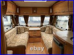 2007 Ace Supreme Globestar-Fixed Island Bed-4 Berth-Twin Axle-Touring Caravan