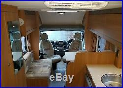 2010 Fiat Swift Escape 664 4 Berth Motorhome LPG, Sat TV, Air Con, Reverse Cam