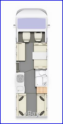 2013 6 berth, 6 legally burdened belted seats Elldis Autoquest 180 Flyte Ltd Edi