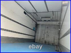2014 daf cf 75 310 4x2 sleeper cab manual 25ft multi temp fridge freezer + lift