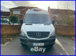 2015 (65) Mercedes-Benz Sprinter Lwb Refrigerated Chiller Fridge Van AIR CON