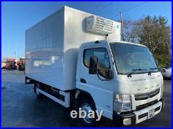 2015 Mitsubishi canter 7c15 7.5 ton fridge freezer with tail lift