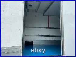 2015 daf Lf 180 12ton 20ft multi temp fridge freezer + lift euro 6 ulez