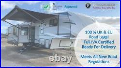 2021 Eurocruiser 965 Elite Fifthwheel American Caravan RV Touring 5th wheel