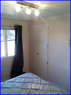 2 bedroom mobile home sunny rural Portugal UK family ran permanent living site