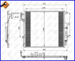 A/C Air Condenser Radiator Land RoverRANGE ROVER SPORT, DISCOVERY IV 4 LR021824