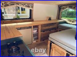Bespoke campervan conversion Ford Transit