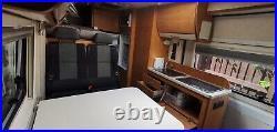 Campervan Motorhome conversion Citroen 6m 4 berth with bunks
