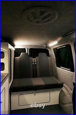 Campervan VW T6 Highline Pop top New conversion transporter Volkswagen