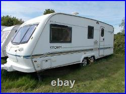Caravan 4 berth Elddis Crusader Storm (2000)