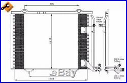 Condenser, air conditioning NRF 35463