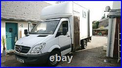 Converted Mercedes Sprinter Luton Van. Campervan, Camper Conversion
