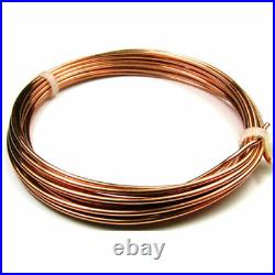 Copper Pipe Coil 12mm 15mm 18mm 22mm Gas Solar System Heating Oil 1mm Wall