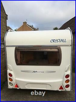 Cristall 530 tf 4 berth fixed bed caravan