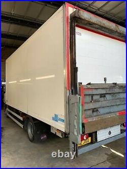 Daf Lf45.210 Fridge Box, 12 Ton, Tail Lift, Carrier 550