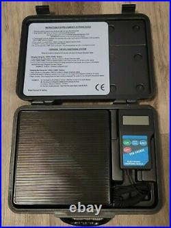 FJC Electronic Refrigerant Scale with Case for Air Conditioning A/C Repair #2850