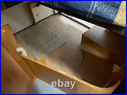 Fiat Ducato Motorhome 4 Berth, Fixed Bed, 3,500kg