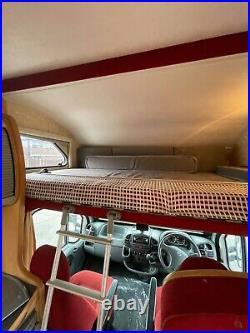 Fiat ducato firebrand motorhome 6 berth