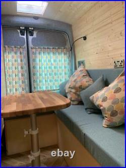 Ford transit campervan conversion, camper, off grid, motorhome, day van