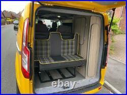 Ford transit custom camper van