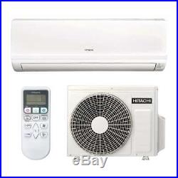 Hitachi Summit Air Conditioning 2.5KW. Wall Mounted Inverter Heat Pump