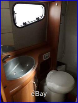 Hobby Siesta T600FL Exclusive Motorhome Campervan