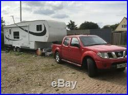 Kountry Lite 5th Wheel trailer 26RK + 2006 Nissan Navarra Pickup PRICE REDUCED