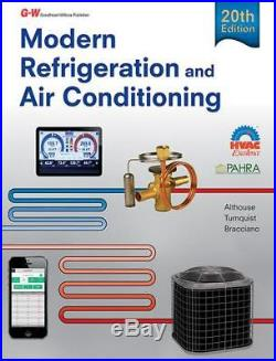 Modern Refrigeration and Air Conditioning by Andrew D. Althouse (English) Hardco