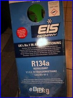R134A EIS 12KG Refrigerant refillable gas Air Conditioning A/C NO Surcharge