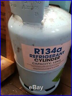 R134a refrigerant air con gas Auto air conditioning cylinder 12.5kgVirgin gas