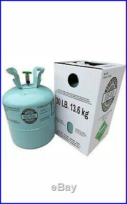 R134a refrigerant air con gas Auto air conditioning cylinder 13.6 kg