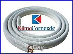 Refrigerant Piping Copper Pipe Insulated Various Legnths+Dimensions+Fittings