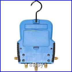 Refrigeration Air Conditioning AC Digital Diagnostic Manifold Gauge Kit