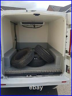 Renault traffic fridge van