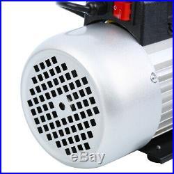 Ridgeyard 8CFM 1/2HP 1 Stage Vacuum Pump Air Conditioning Refrigeration Vacuum