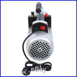 Ridgeyard 8CFM 1/2HP Single Stage Pump Air Conditioning Refrigeration Vacuum 5Pa