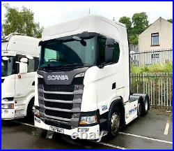 Scania S500 Highline 6x2 fridge microwave and leather. In preperation