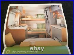 Small lightweight ideal 4 birth touring caravanTouring van