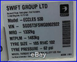 Sterling Eccles 530 4 Berth Single Axle Swift (2016)