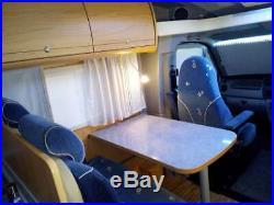 TOP OF THE RANGE LUXURY BURSTNER DELFIN T680 with 4 Traveling Seat belts
