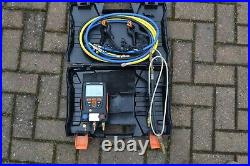 Testo 550 Digital Manifold Kit for air conditioning/refrigeration with hoses