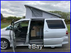 Toyota Alphard campervan
