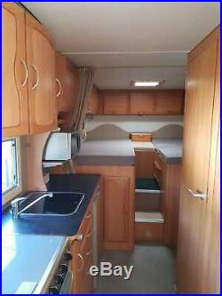 Used motorhomes 6 berth